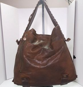 Clhoe Large Brown Handbag